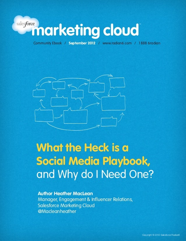 Community Ebook / September 2012                                                              What the Heck is a Social Me...