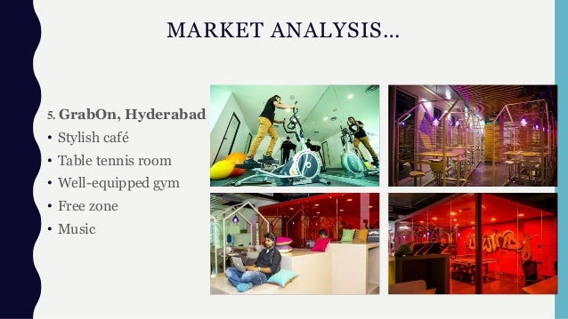 MARKET ANALYSIS… 5. GrabOn, Hyderabad • Stylish café • Table tennis room • Well-equipped gym • Free zone • Music