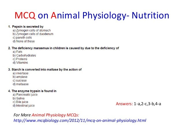Biology MCQs (Multiple Choice Questions)