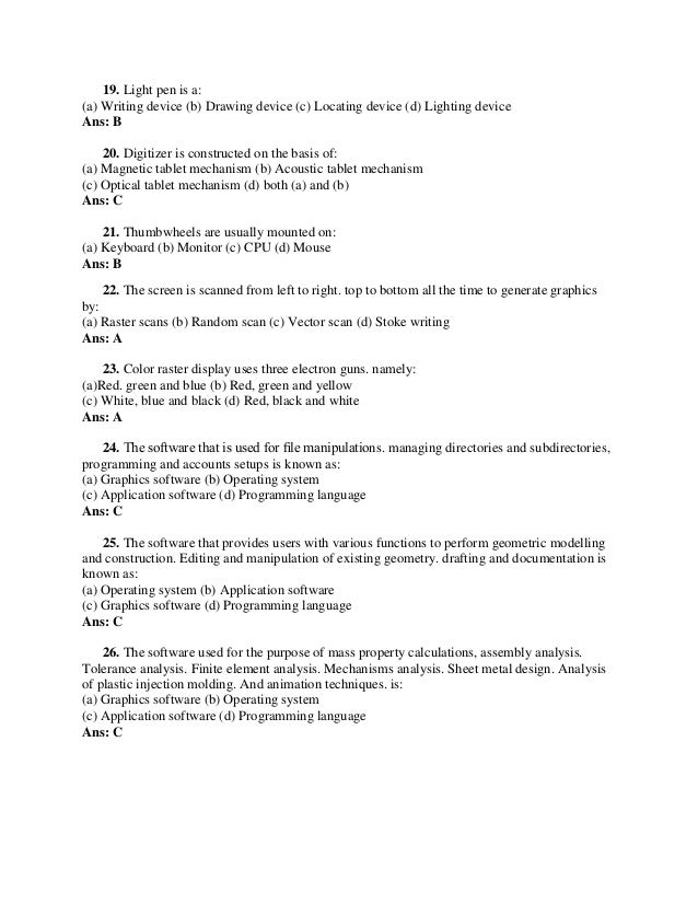 Pdf answers and objective unix questions