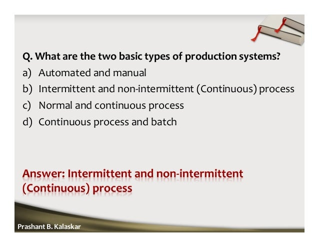 The 5 Types of Manufacturing Processes