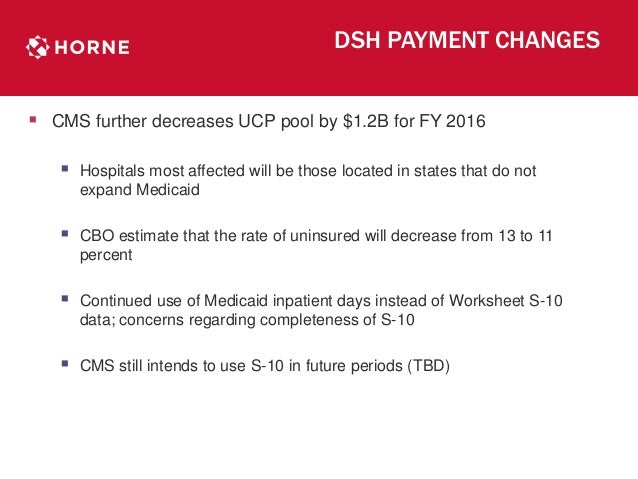 Cost Report Worksheet S 10 Uncompensated Care And Other Updates