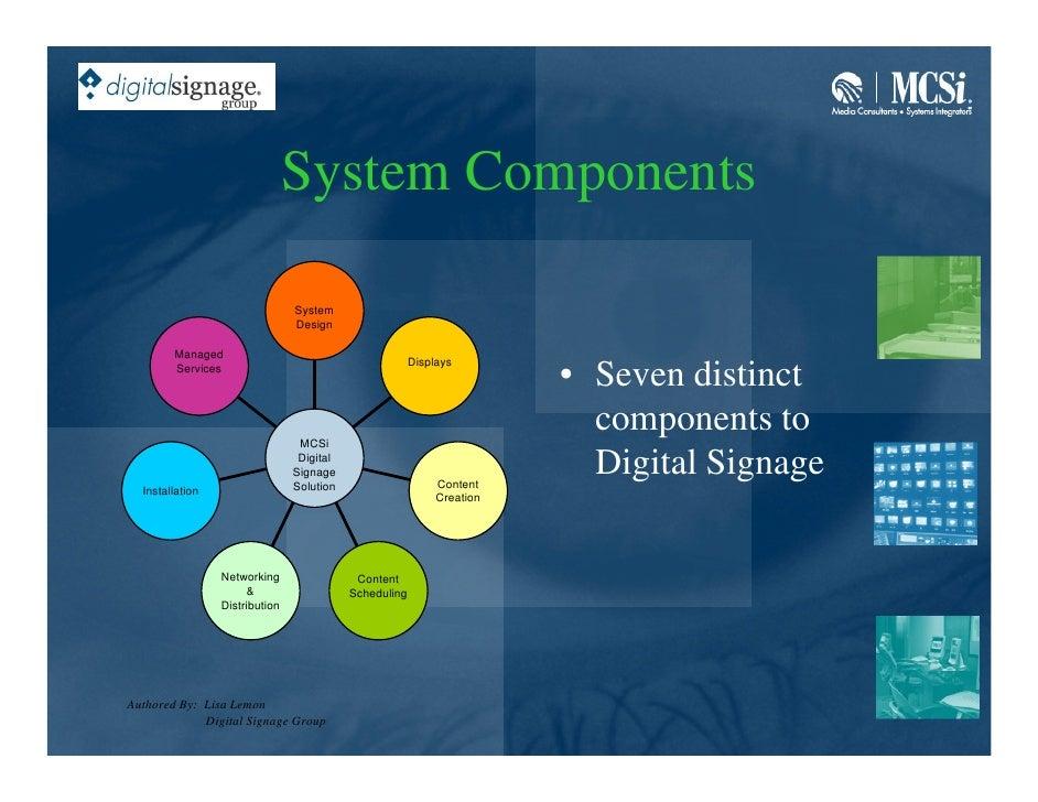System Components                                  System                                 Design          Managed         ...