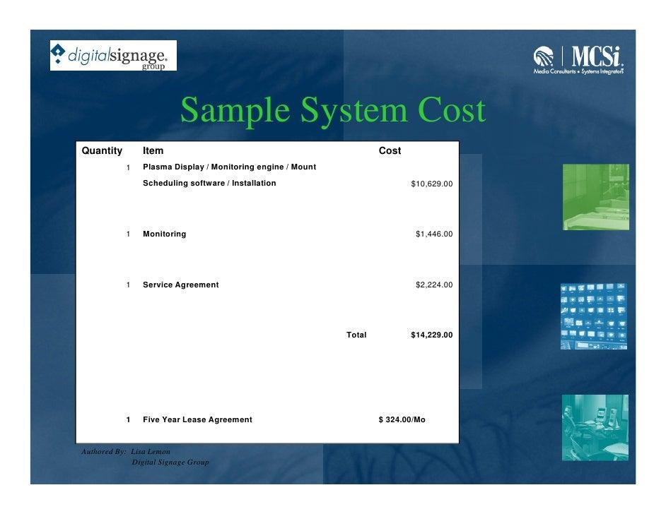 Mcsi digital signage presentation digital signage group 26 platinumwayz