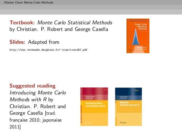 Monte Carlo Statistical Methods Pdf
