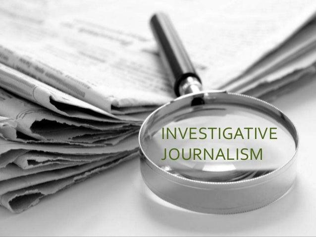 Investigative Journalist