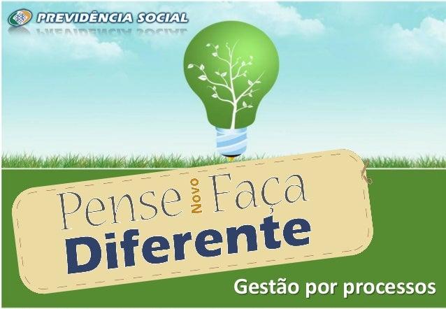 1 1 Metodologia de Modelagem de Processos Brasília/DF, junho de 2011.Gestão por processos