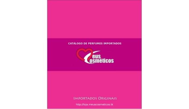 Perfumes importados - Completo 2013-08-23