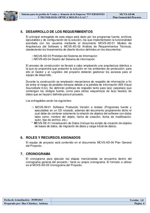 mcvs ad-02 plan de gestión de desarrollo