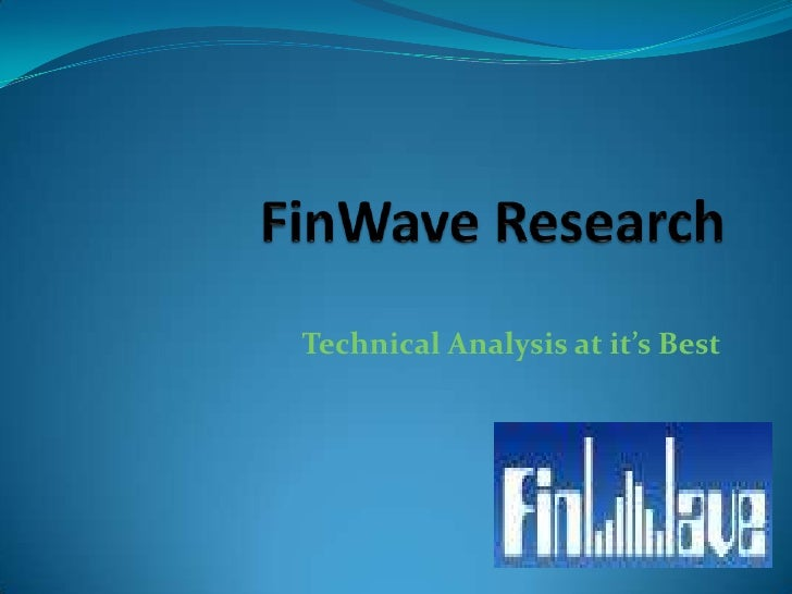 FinWave Research Technical Analysis at it's Best