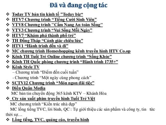"""MC chương trình truyền hình trực tiếp """" Giai điệu Phương Nam """" phát sóng trên 14 đài PT-TH miền Tây Nam Bộ & Đông Nam Bộ v..."""