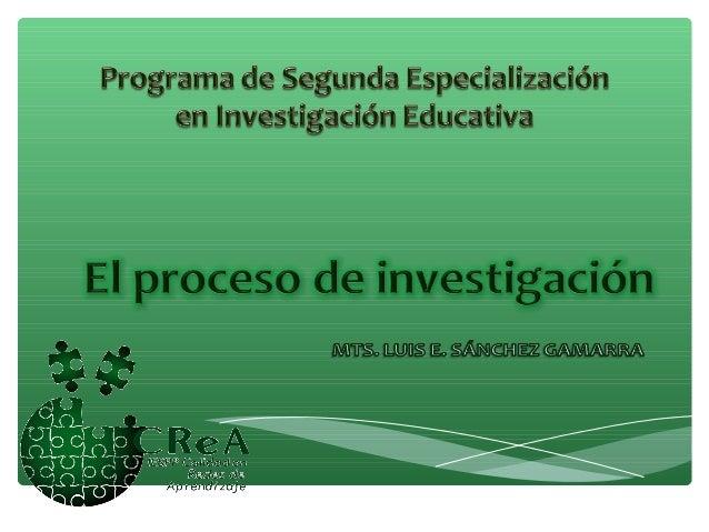 Construcción del conocimientocientíficoA través de la sucesión de pasos metódicos y reflexivos que conducen a conocer el q...