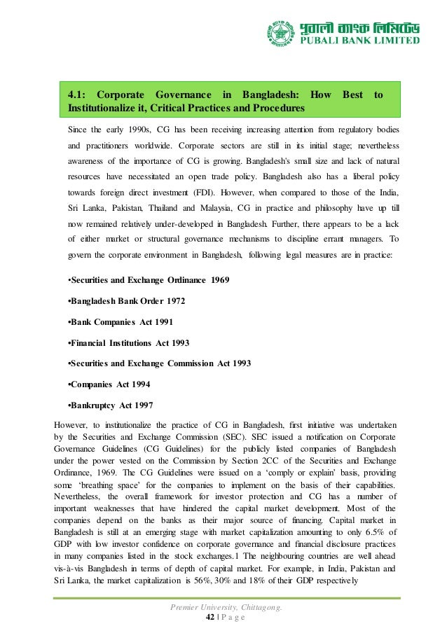 operation of commercial banks in bangladesh Brac university institutional repository foreign exchange operation of a commercial bank of bangladesh: a case of the premier bank ltd, kawran bazar branch.