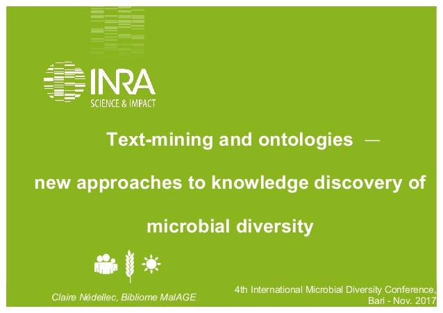 4th	   International	   Conference	   on	   Microbial	   Diversity,	   2017	   Bari	    	   	   	    1 4th International...
