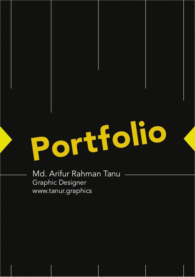 Portfolio Md. Arifur Rahman Tanu Graphic Designer www.tanur.graphics