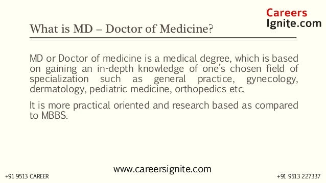 MD - Doctor of Medicine Courses, Colleges, Eligibility,  Slide 2