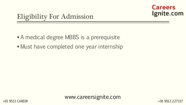 MD - Doctor of Medicine Courses, Colleges, Eligibility,  Slide 3
