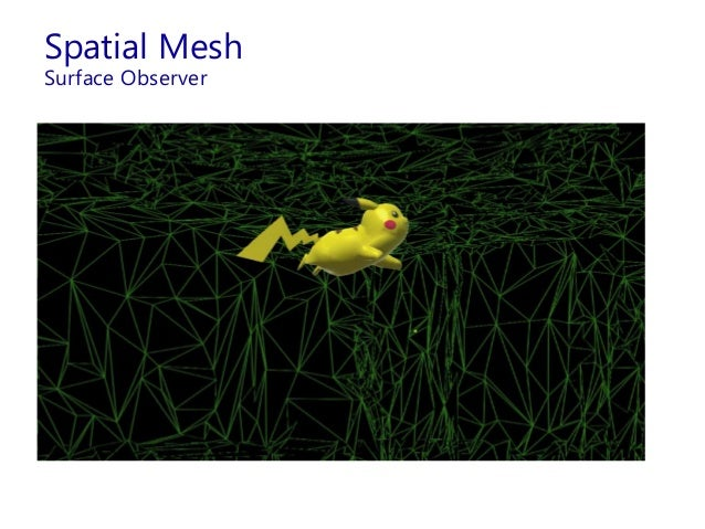 Spatial Mesh Surface Observer