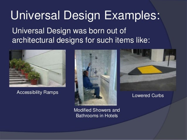 Universal Design Classroom Examples : Universal design for learning presentation