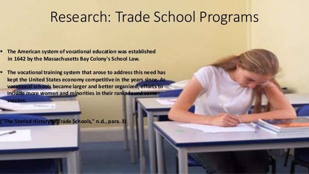 whats a trade school