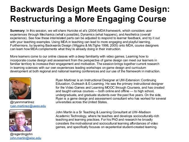 Mda for course design 8-12-15 Slide 1