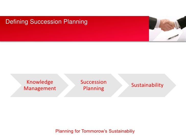 Defining Succession Planning       Knowledge            Succession                                                    Sust...