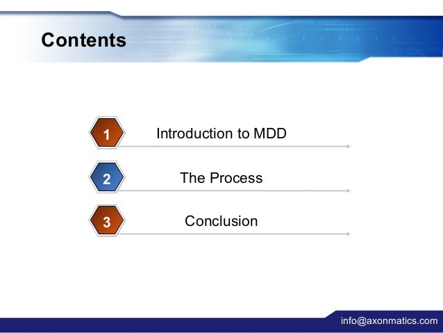 A Lightweight MDD Process Applied in Small Projects Slide 2
