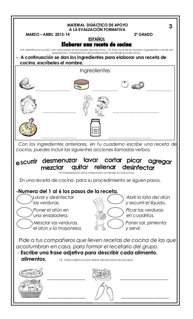 Image Result For Receta De Cocina Y Su Procedimiento