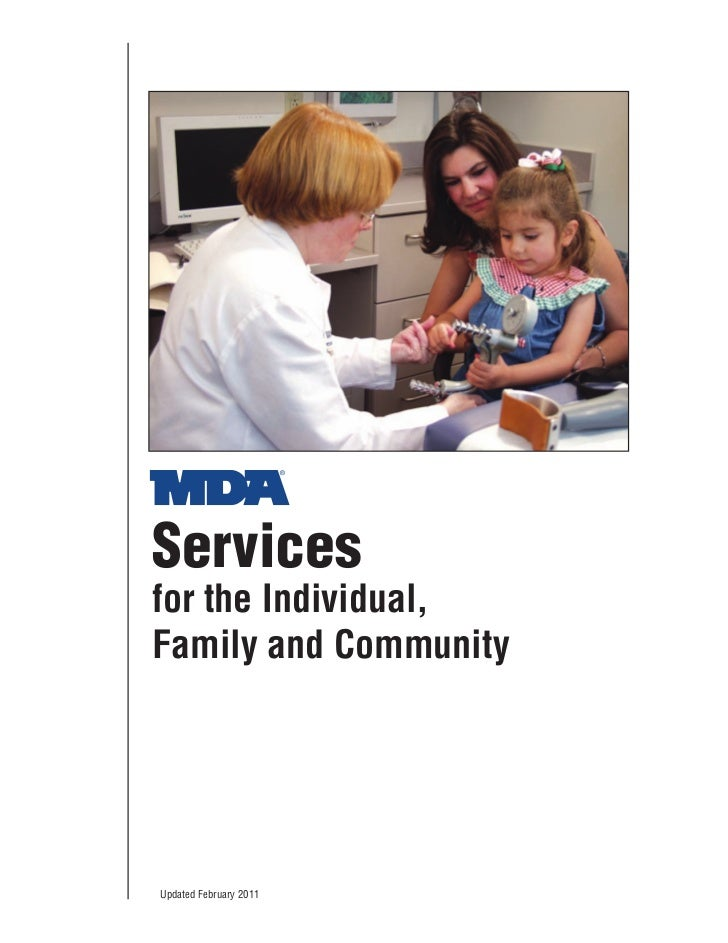 Servicesfor the Individual,Family and CommunityUpdated February 2011