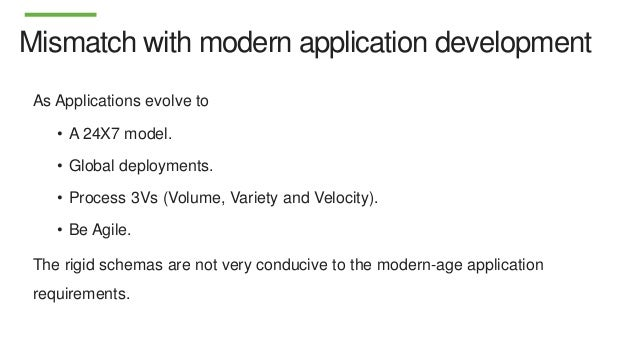 Data Modeling In Mongodb Vs Rdbms