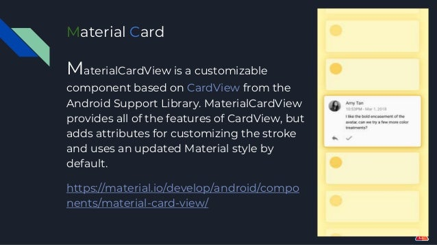 Android Cardview Border Color