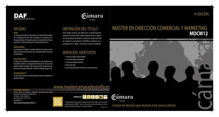MASTER EN DIRECCIÓN COMERCIAL Y MARKETING