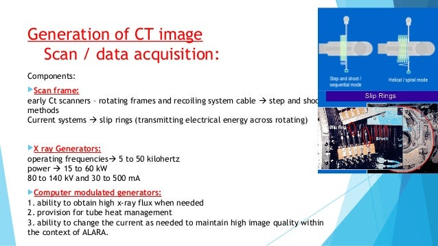Ct Data Acquisition System : Physics of multidetector ct scan