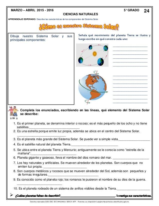 Material de Apoyo Didactico 5° Grado Bloque 4 2016