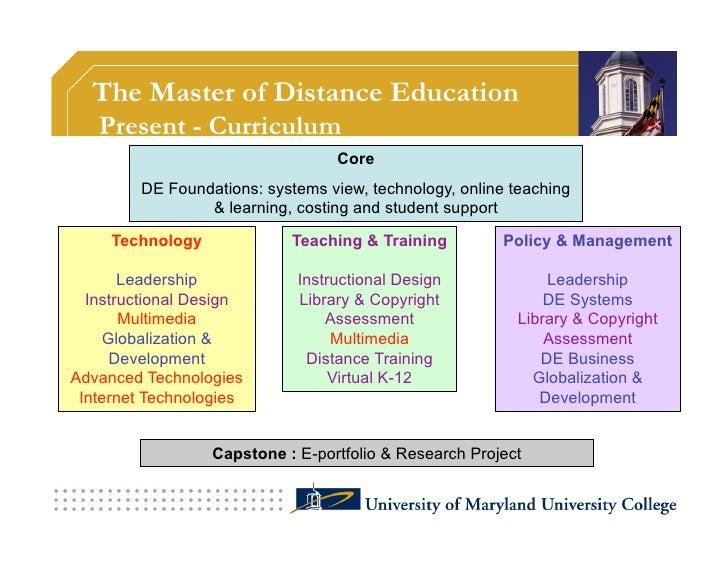 Course development  • UMUC                                • Oldenburg      DE Technologies                        Fo...