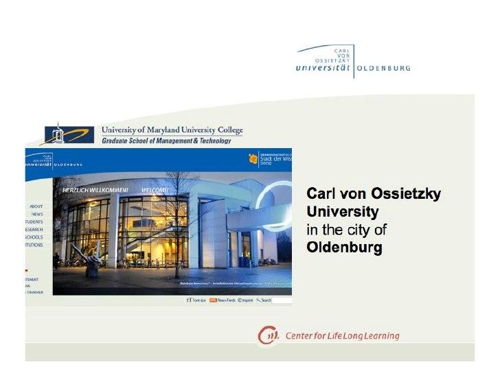 Context and landscape Oldenburg