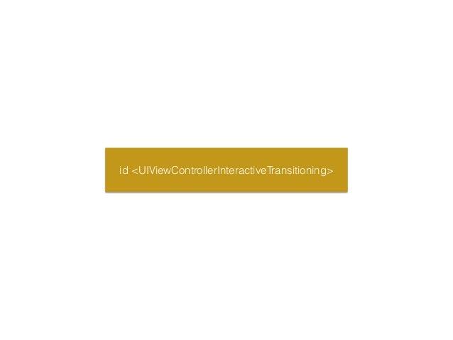 UIPercentDrivenInteractiveTransition