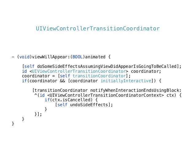 - (id<UIViewControllerAnimatedTransitioning>)! navigationController:(UINavigationController *)navigationController animati...
