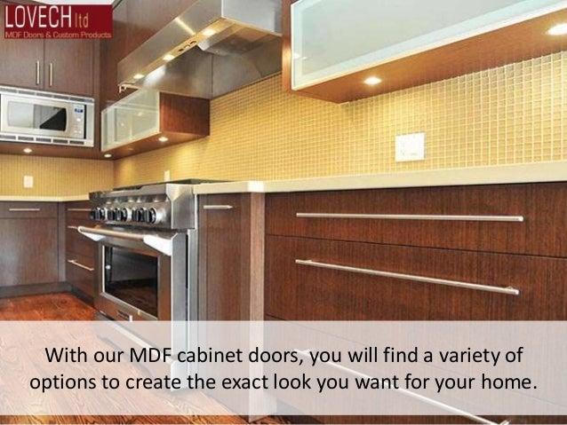 MDF Doors, Kitchen Cabinets and MDF Door Panels in Toronto ...