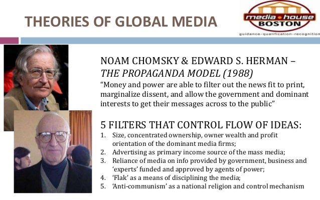 Political economy and the propaganda model
