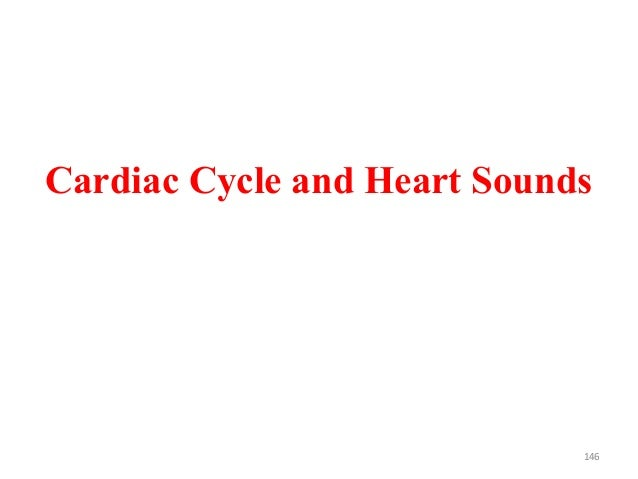 Cardiac Cycle and Heart Sounds 146