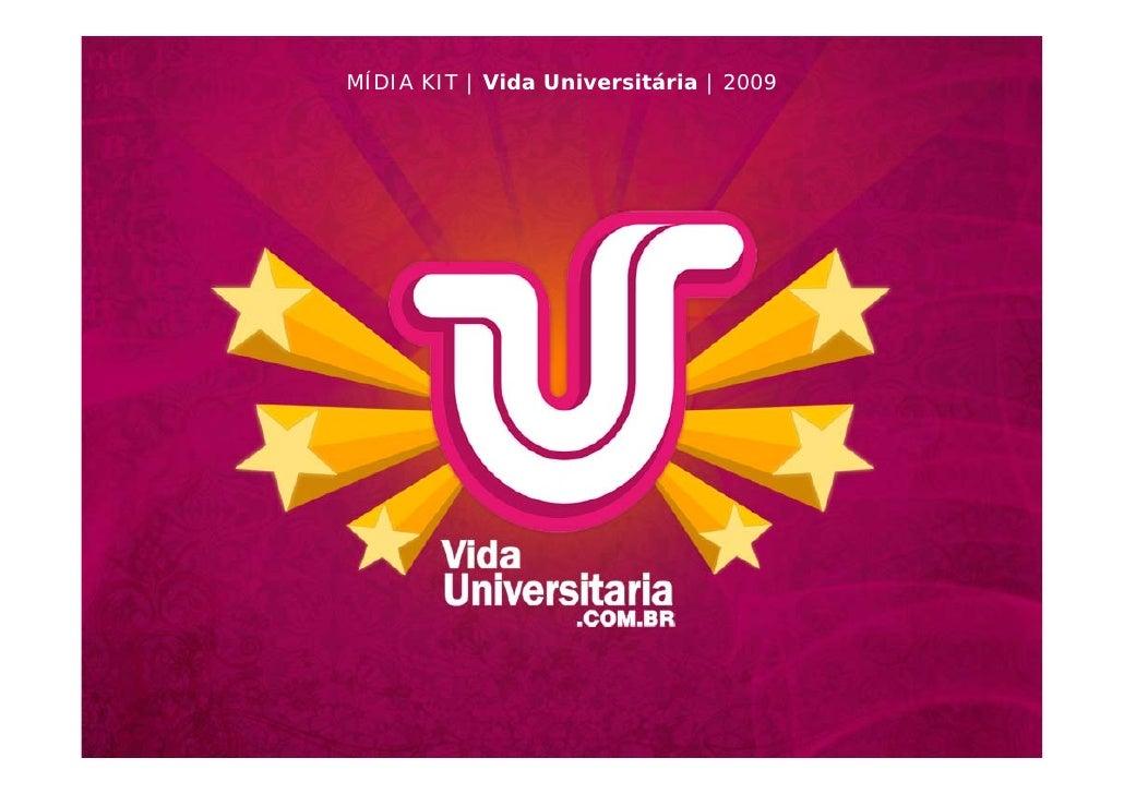 MÍDIA KIT | Vida Universitária | 2009