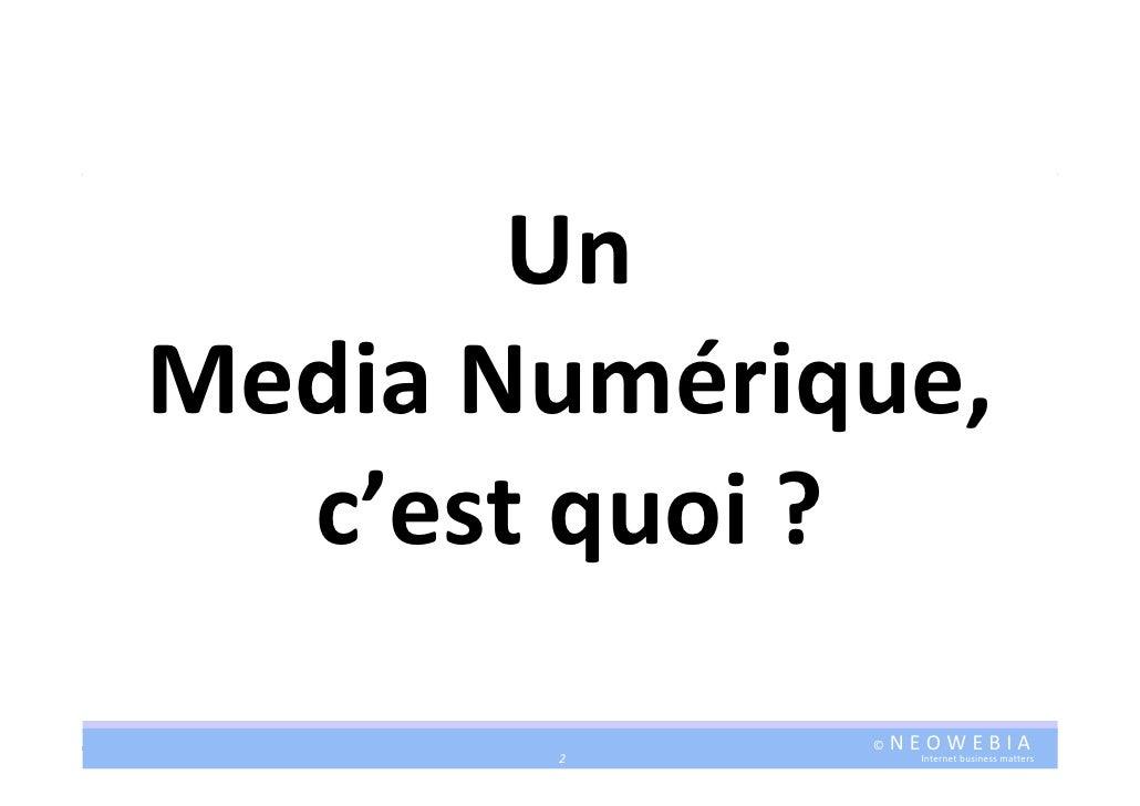 """Cyril Bedel : """"Medias 2.0 Business Models """" (PARIS 2.0, Sept 2009) Slide 2"""