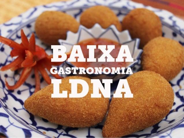 Mídia Kit Baixa Gastronomia Londrina