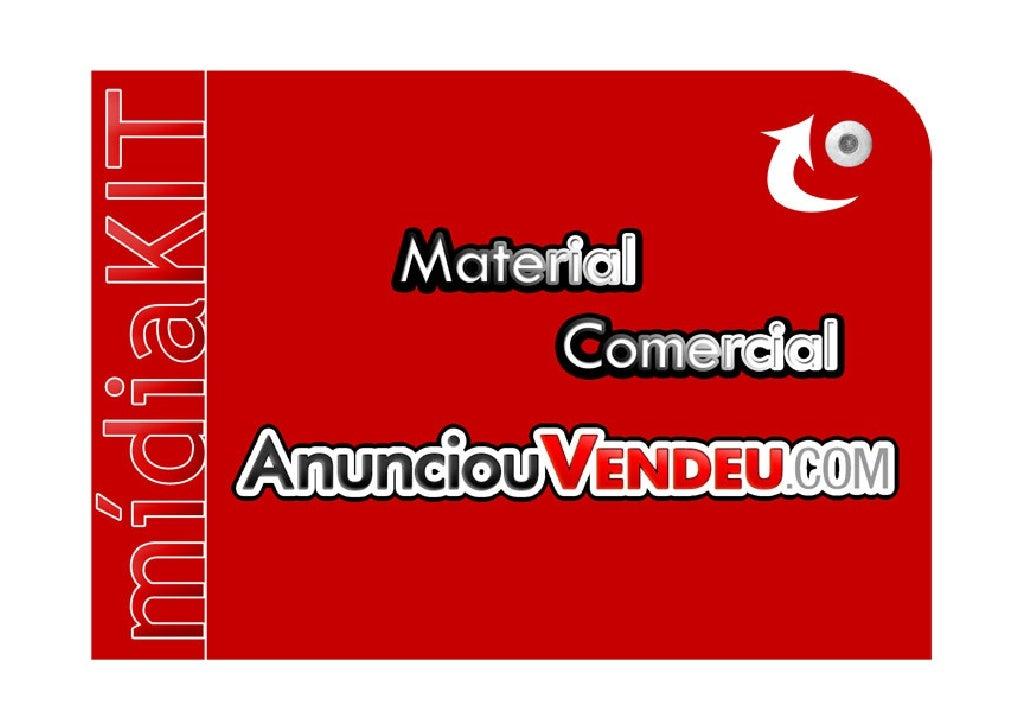 MídiaKIT portal www.anunciouvendeu.com