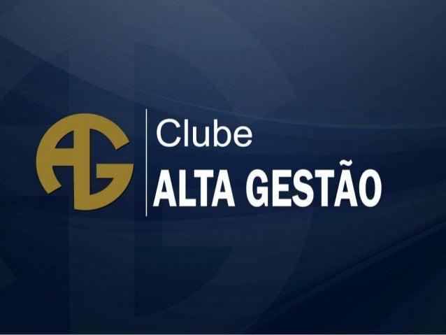 Mídia Kit Clube Alta Gestão 2013