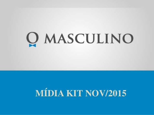 MÍDIA KIT NOV/2015