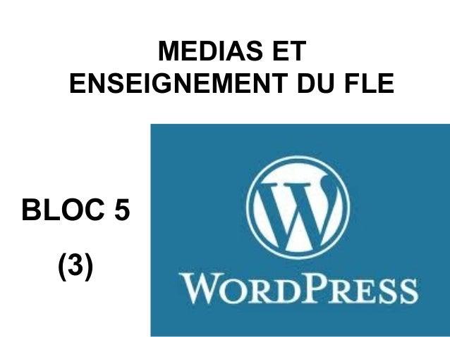 MEDIAS ET  ENSEIGNEMENT DU FLEBLOC 5 (3)