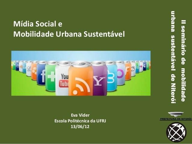 urbana sustentável de Niterói                                                                       II seminário de mobili...