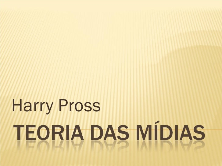 Harry Pross